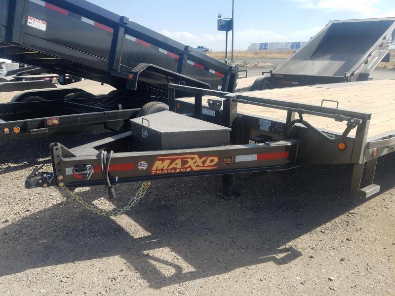 2019 Maxxd Trailers 8 X 20 x 14K Deckover Equipment Trailer