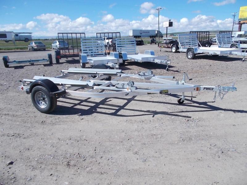 Aluma watercraft trailer 2 place