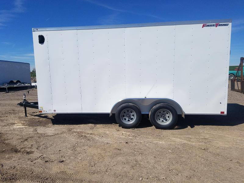 2020 Wells Cargo 7' x 16' Enclosed Cargo Trailer 7' Tall