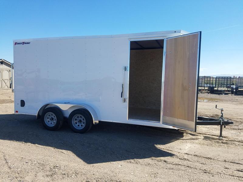 2020 Wells Cargo 7' x 16' Enclosed Cargo Trailer 7' Tall