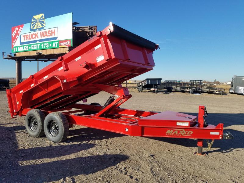 2020 MAXXD 7x14 I-BEAM DUMP TRAILER Dump Trailer