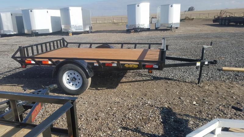 2020 Big Bubba 6'x10' ATV Trailer 2 Place Side Load