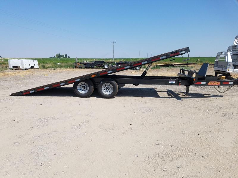 2020 Maxxd Trailers 22' x 14K Deckover Power Tilt Equipment Trailer