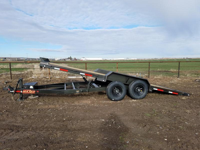 2019 Maxxd Trailers 20' x 14K Power Tilt Equipment Trailer
