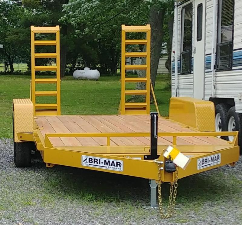 2019 Bri-Mar EH20-14HD Equipment Trailer