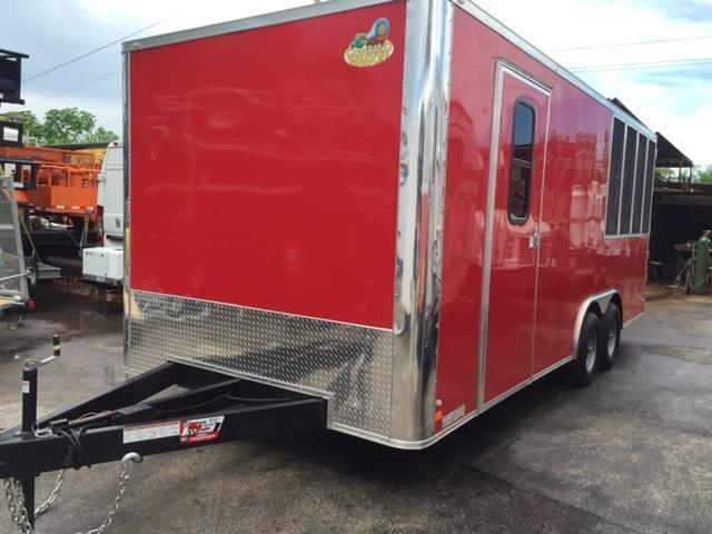 2018 Covered Wagon Trailers 8.6x20 Vending / Concession Trailer