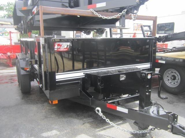 Big Tex Dump Trailer 7 x 14