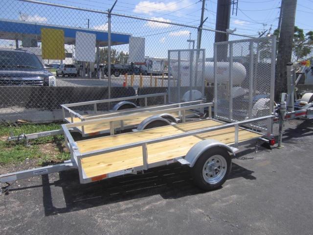 Galvanized Continental Utility Trailers