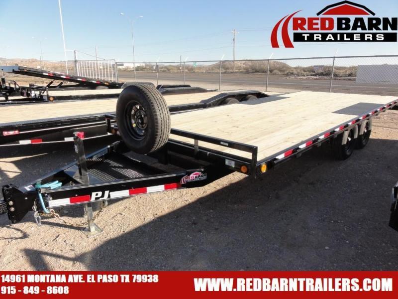 102 X 20 2020 PJ Trailers L6202 Flatbed Trailer