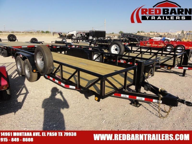 7 X 20 2020 GR Trailers UT7020WR14L Utility Trailer