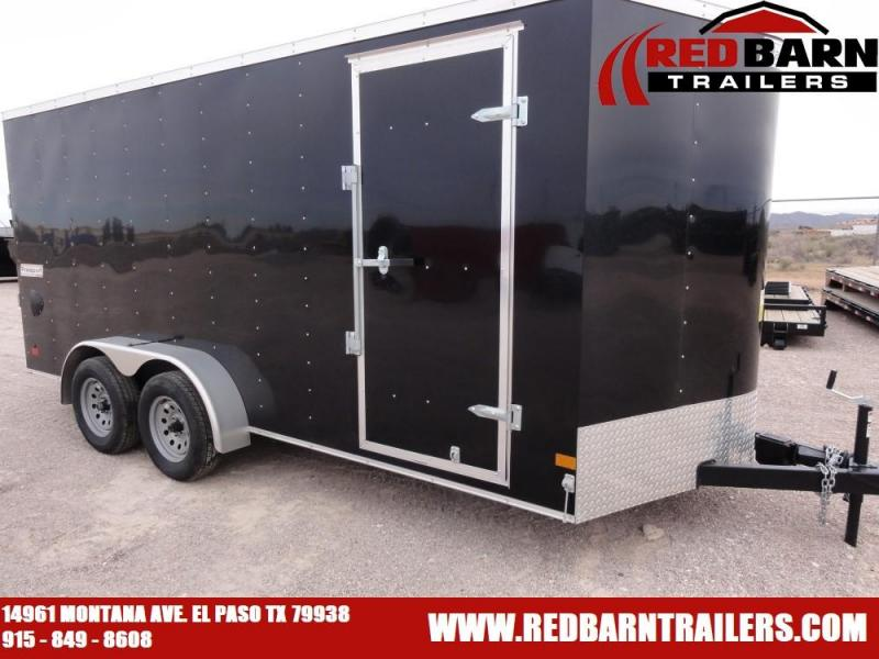7X16 2020 Haulmark Transport V-Nose Enclosed Cargo Trailer