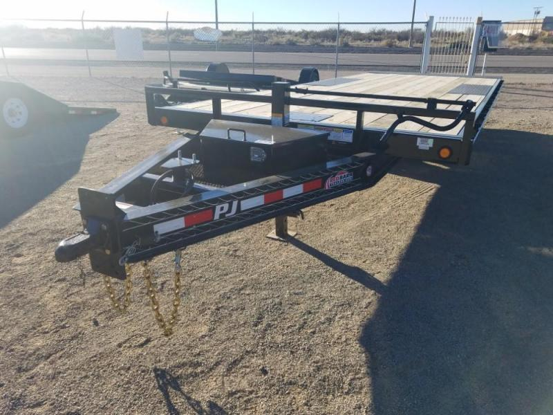 8 x 22 2019 PJ Trailers Deckover Tilt (T8) Car / Equipment Trailer @RedBarnTrailers