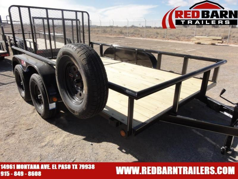 7 X 12 2020 GR Trailers UT7012WR07L Utility Trailer With NO BRAKES