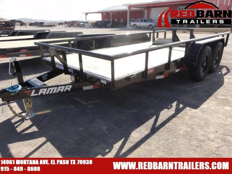 7 X 16 LAMAR UTILITY TRAILER MODEL U5831425