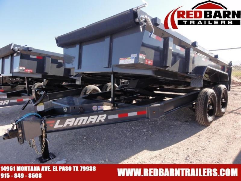 83 X 14 Low-Pro Dump Trailer (DL)