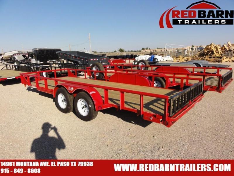 7 X 20   GR Trailers UT7020WR07L Utility Trailer @RED BARN TRAILERS