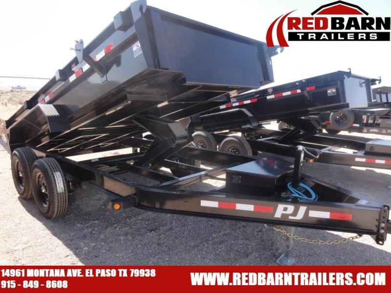7 x 14 2020 PJ Trailers DG142 Dump Trailer