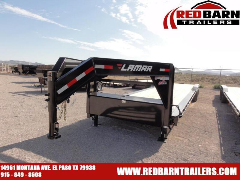 102 X 38 020 Lamar Trailers H8022 Equipment Trailer @RED BARN TRAILERS