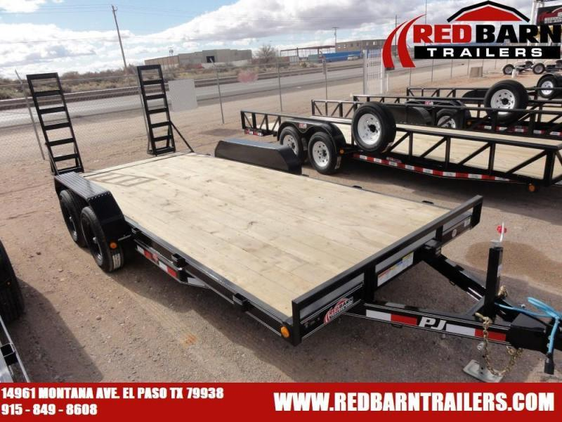 "2020 PJ Trailers 5"" CHANNEL EQUIPMENT HAULER UTILITY Equipment Trailer"