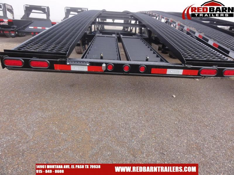 2020 Kaufman Trailers 50 ft.Triaxle Wedge Car Trailer Car