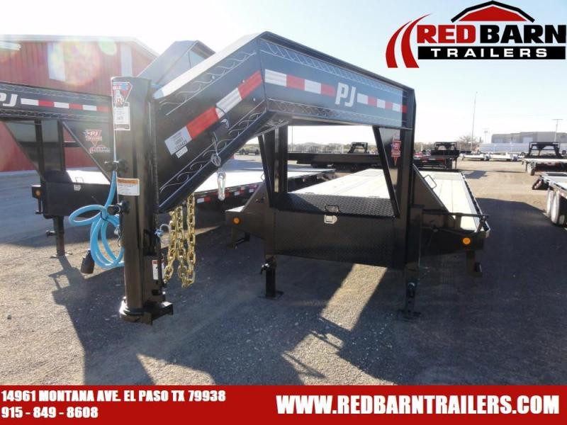 102x32 2020 PJ Trailers Low-Pro Flatdeck with Duals (LD)