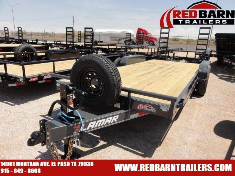 7 X 16 2020 Lamar Trailers H6831627X EQUIPMENT HAULERILERS