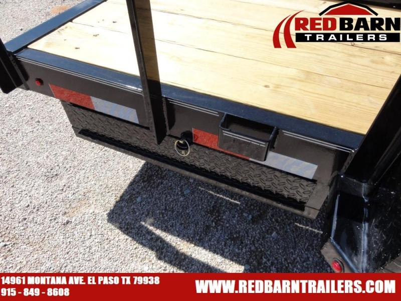 7 X 16 2020 LAMAR U5 UTILITY TRAILER @RED BARN TRAILERS