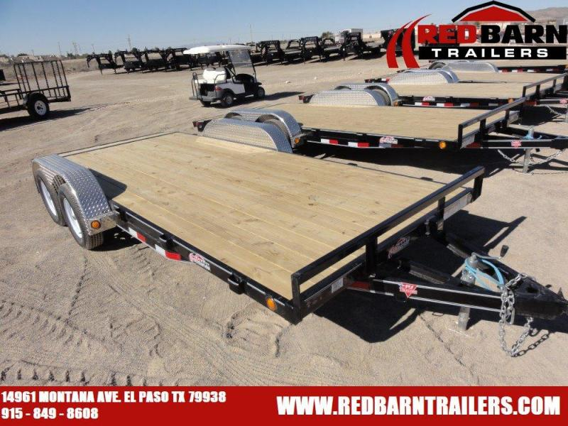 7 X 18 2020 PJ C4 CARHAULER @RED BARN TRAILERS