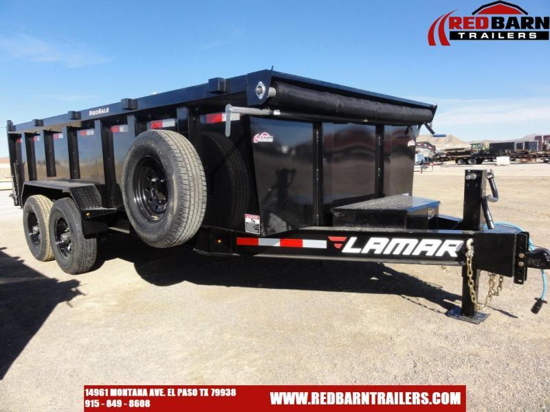 2020 Lamar Trailers LOW-PRO DUMP Dump Trailer