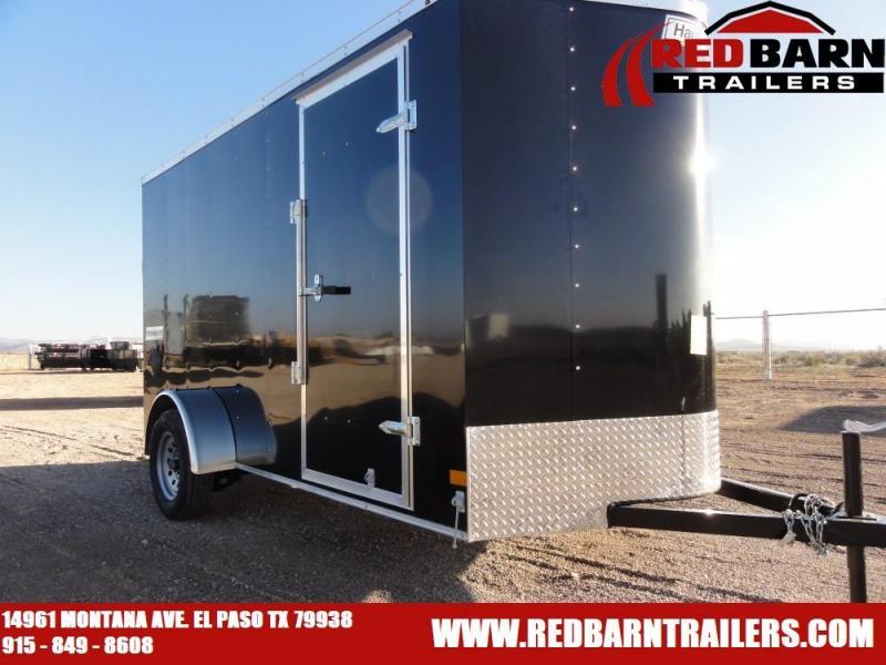 6 X 12 2020 Haulmark PP612S2-D Enclosed Cargo Trailer