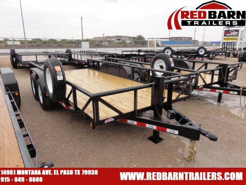 7 X 16 2020 GR Trailers UT7024WR14L Utility Trailer