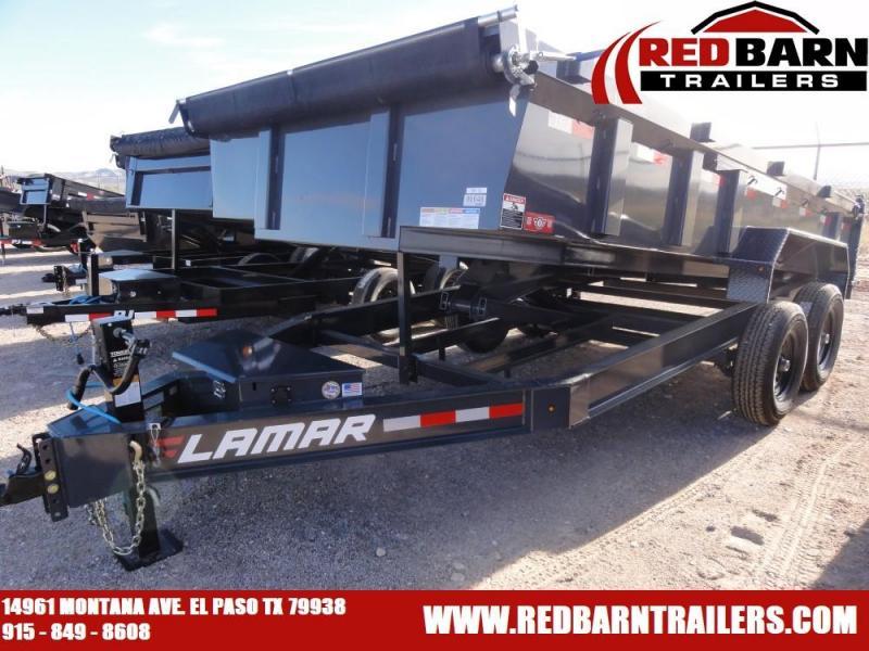 2020 Lamar Trailers LOW-PRO DUMP Dump Trailer