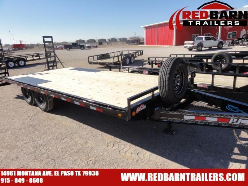 2020 PJ Trailers 8 I-Beam Deckover (F8) Flatbed Trailer