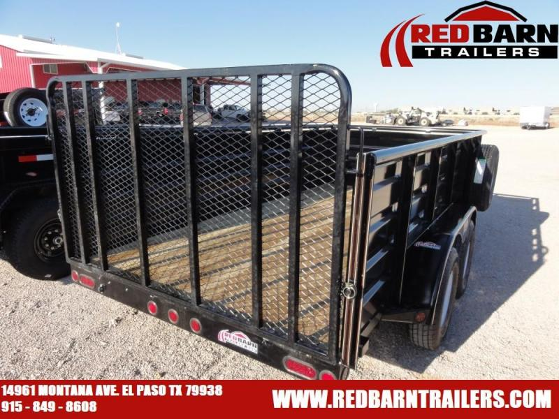 7 X 14 2019 GR Trailers UT714WR07L Utility Trailer @RED BARN TRAILERS