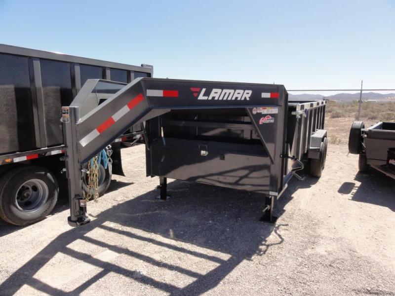 83 X 16 2019 Lamar Trailers LOW-PRO DUMP Dump Trailer @RED BARN TRAILERS