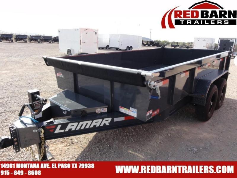 2020 Lamar Trailers DL8314 Dump Trailer