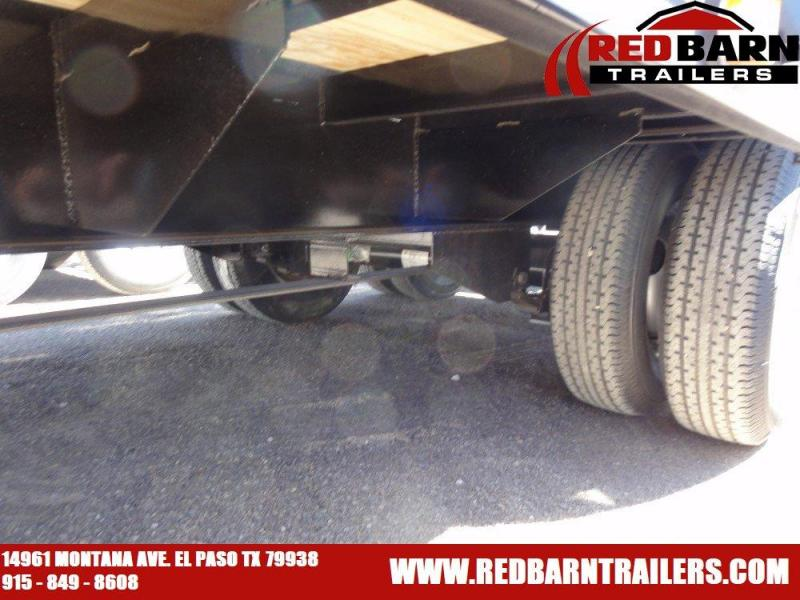 102x25 2019 PJ Trailers Low-Pro Flatdeck with Duals (LD) @ Red Barn Trailers