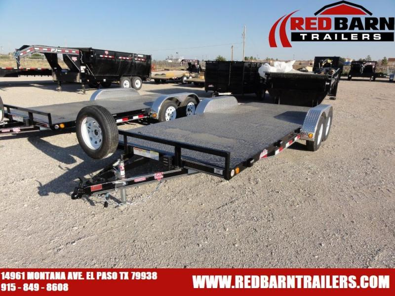 7 X 20 2020 PJ C4 CARHAULER @RED BARN TRAILERS