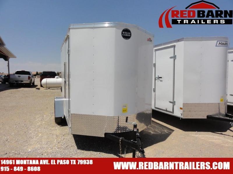 2020 Wells Cargo FT610S2-D Enclosed Cargo Trailer