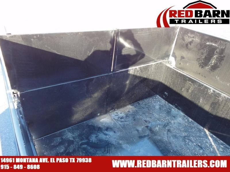 83 x 12 2020 PJ Trailers DL122 Dump Trailer with Optional 2' extensioins