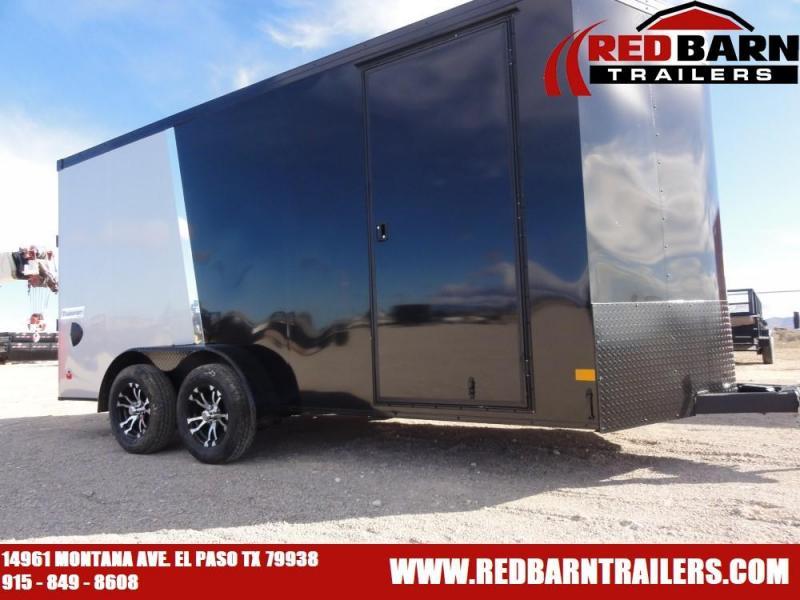 7X16 2020 Haulmark Transport V-Nose Enclosed Cargo Trailer