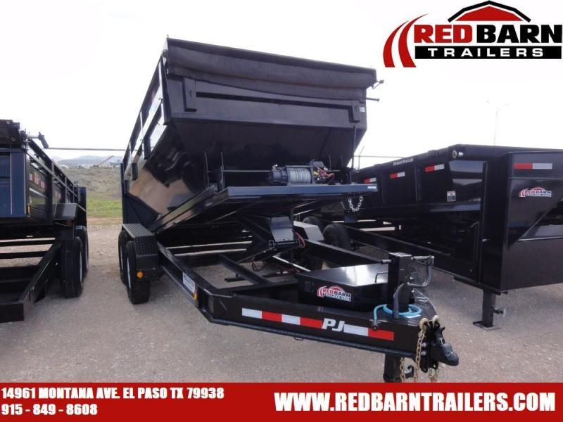 2020 PJ Trailers ROLL-OFF Dump Trailer