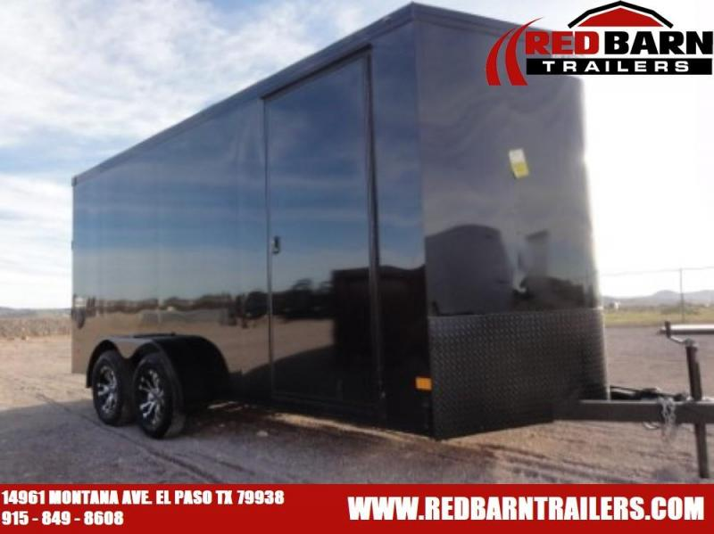 7X16 2020 HAULMARK TRANSPORT BLACKOUT Enclosed Cargo Trailer