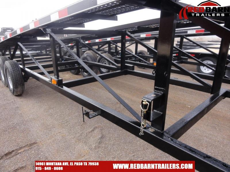 2020 Kaufman Trailers 50 ft. Deluxe Triaxle Wedge Car Trailer