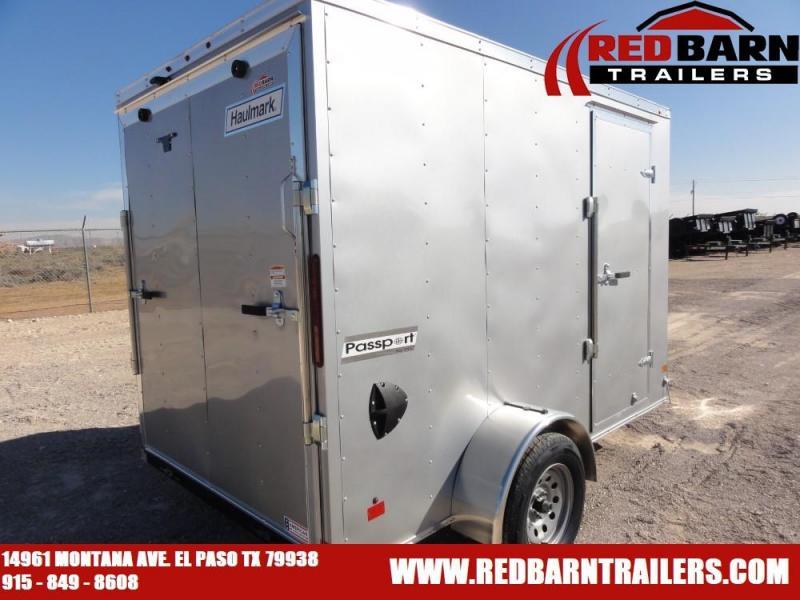 6 X 10 2020 Haulmark PP610S2-D Enclosed Cargo Trailer