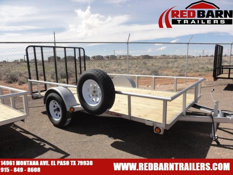 6.5 x 12 Single Axle Utility - Ramp Gate