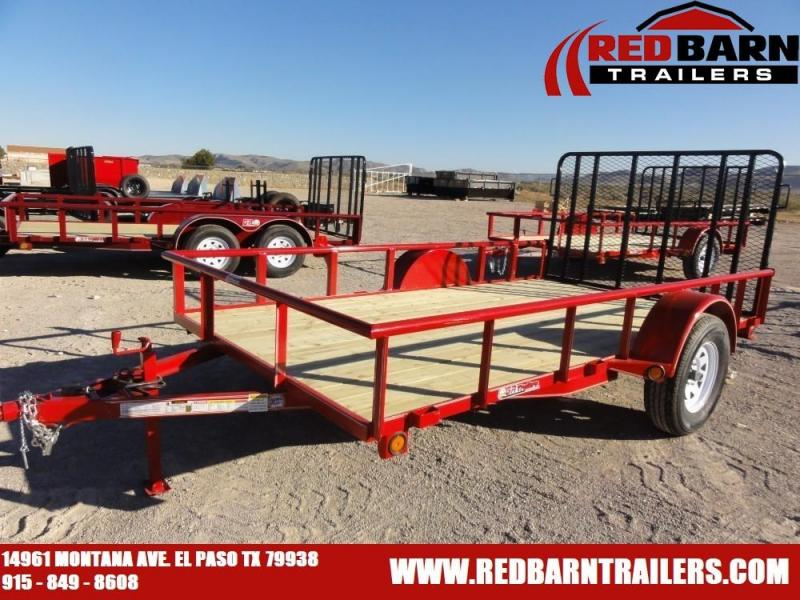 2020 GR Trailers UT6512W03L Single Axle Utility Trailer