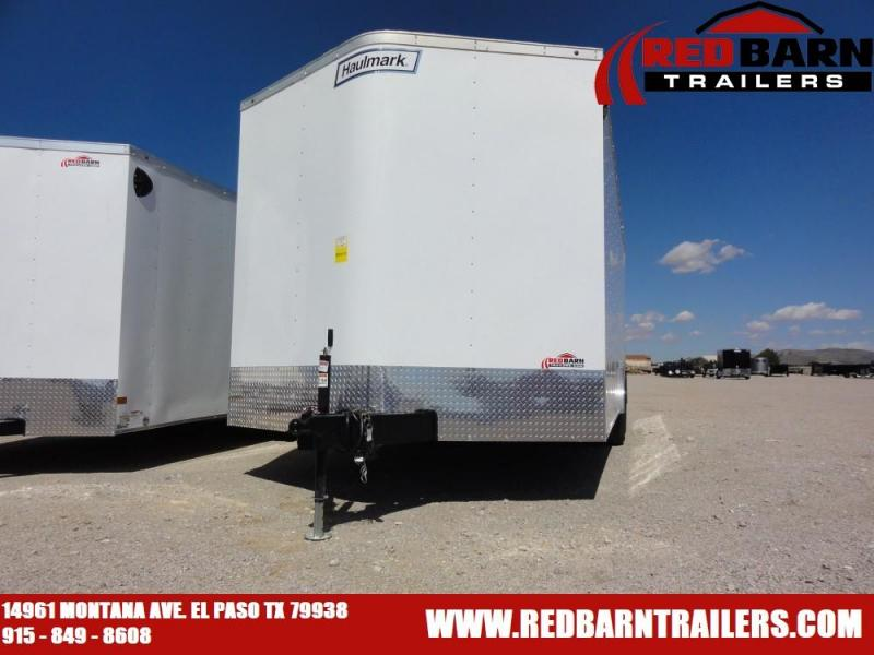 8.5x20 2020 Haulmark Passport 8.5 Wide Enclosed Cargo Trailer @redbarntrailers