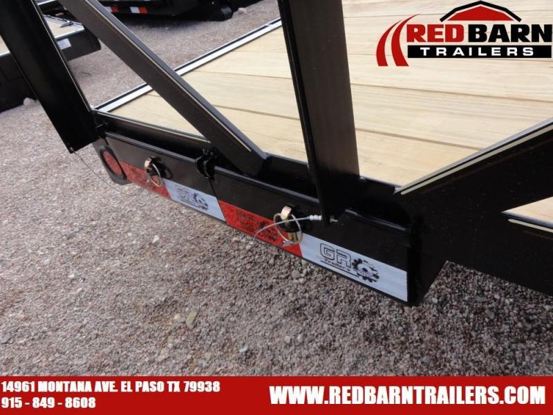 7 X 18 2020 GR Trailers UT7018WR14L Utility Trailer