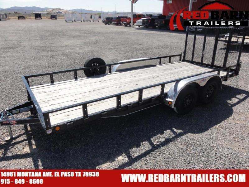 83 X 18 PJ Tandem Axle Channel Utility